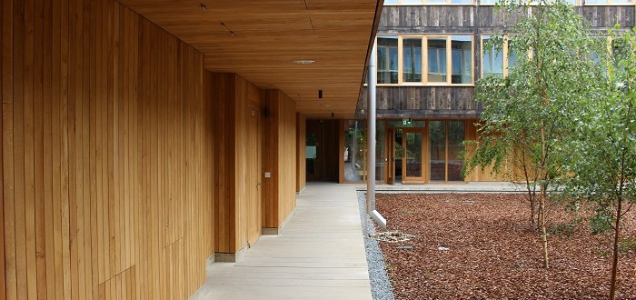 Cowan Courtyard